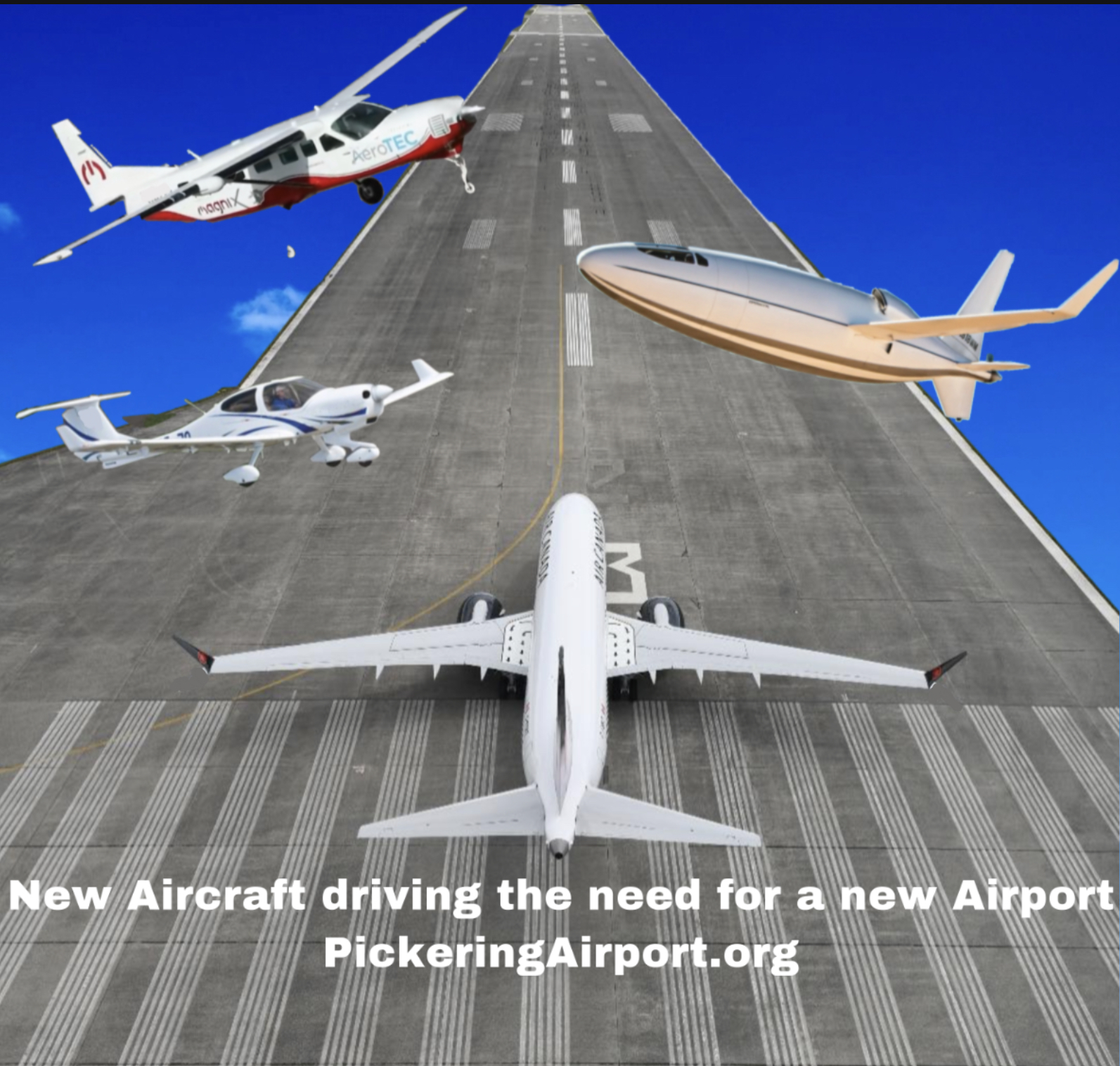 The New Aircraft of Pickering Airport: A Quest for Efficiency