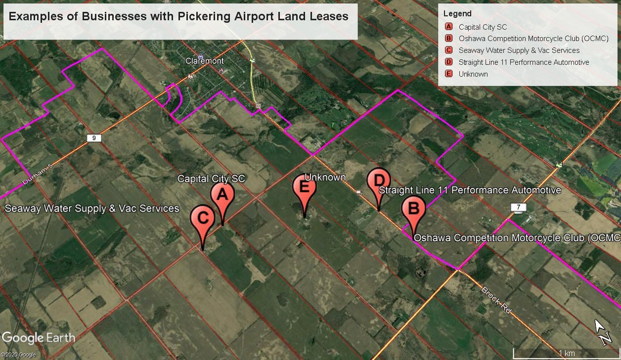 Saving the Businesses on the Pickering Lands