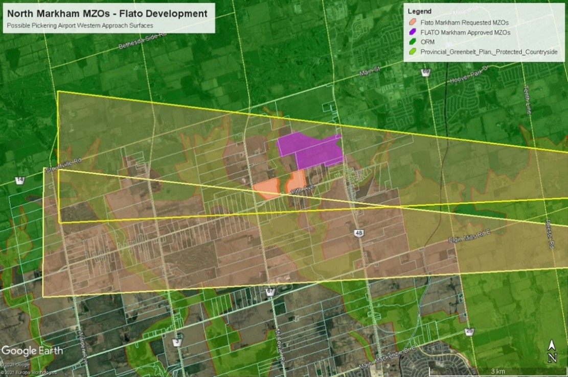 Proposed Markham Development Ignores the Future Pickering Airport?